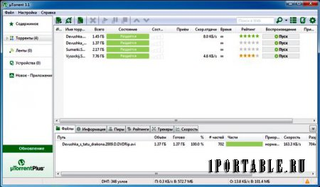 �Torrent 3.3.2.303488 Final Rus Portable - ����� ���������� ������ BitTorrent