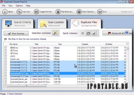 Duplicate Cleaner Free 3.2.3 Eng Portable - ����� � �������� ����������