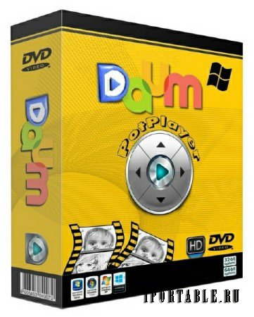 Daum PotPlayer 1.6.46264 Rus Portable