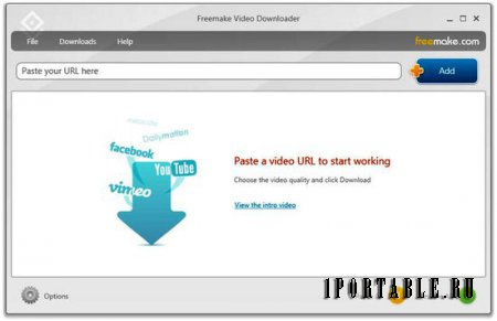 Freemake Video Downloader 3.6.3.2 Rus Portable - ������ ��������� �����