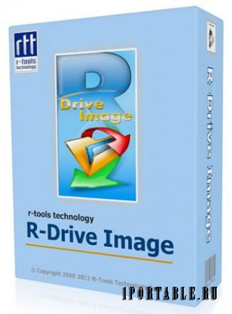 R-Drive Image 5.3 Build 5300 Portable - создание файлов образа диска и резервное копирование данных