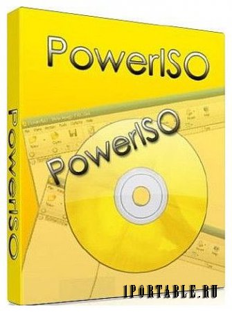 PowerISO 6.1 Portable - работа с образами CD/DVD/BD дисков