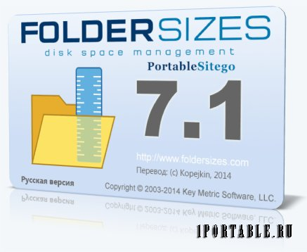 FolderSizes 7.1.92 Enterprise Edition Portable by Sitego