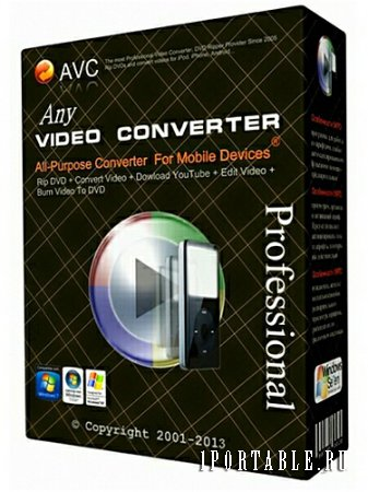 Any Video Converter Professional 5.7.5 portable by antan