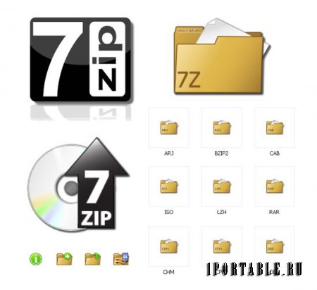 7-Zip 9.35 beta Rus Portable - ������ ���������