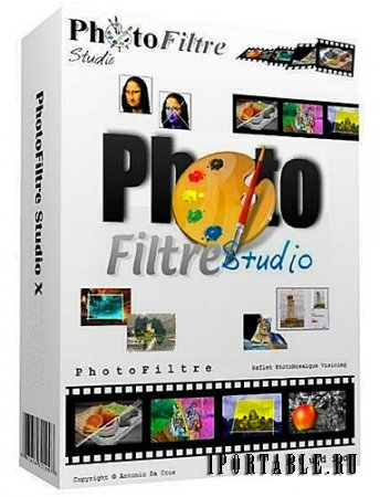 PhotoFiltre Studio X 10.9.2 portable by antan