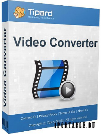 Tipard Video Converter 7.1.58 portable by antan