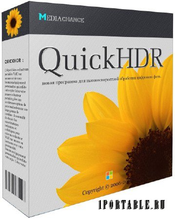 MediaChance QuickHDR 1.0.1 DC 22.05.2015 Rus Portable by SamDel