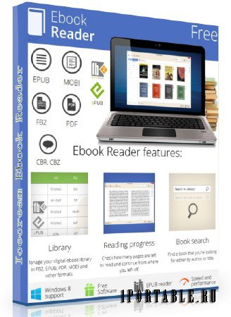Icecream Ebook Reader 1.60 Rus Portable by SamDel