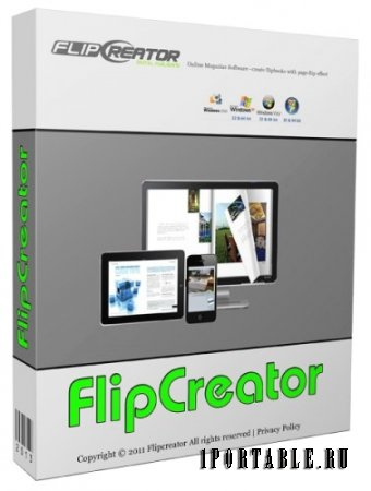 FlipCreator 4.9.0.9 portable by antan