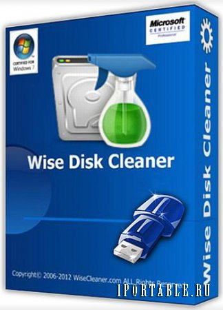 Wise Disk Cleaner 8.72.616 Portable by PortableApps - расширенная очистка жесткого диска