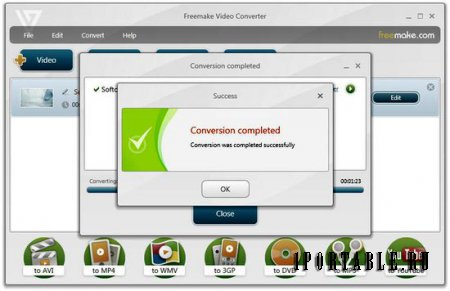 Freemake Video Converter 4.1.7.0 Rus Portable - конвертер видео