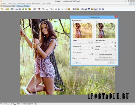 XnView 2.34 Full Rus Portable - �������� � ������ � ��������