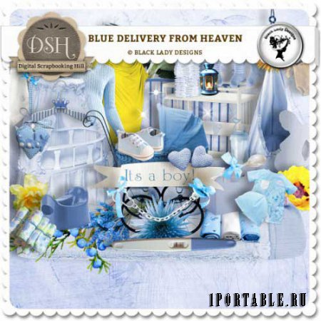 ������� �����-����� - Blue delivery from heaven