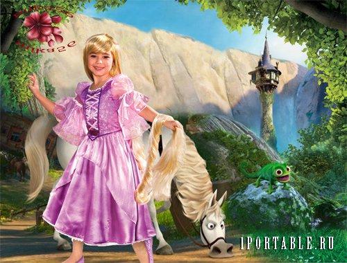 Rapunzel haircut game
