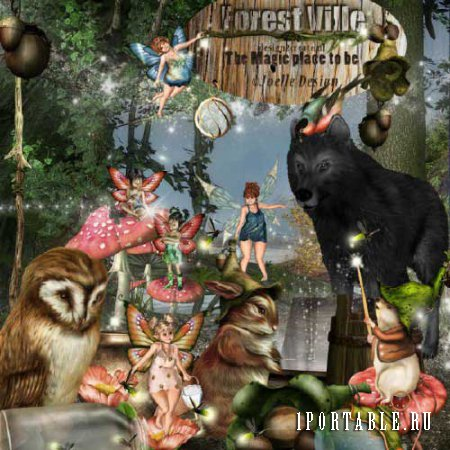 ��������� �����-����� - Forest Ville