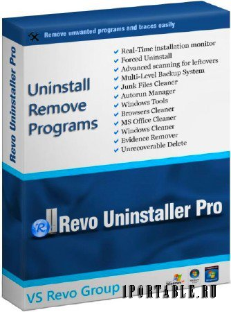Revo Uninstaller Pro 3.1.8 Rus Portable
