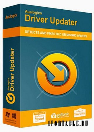 Auslogics Driver Updater 1.9.4.0 Portable by CWER - поиск и инсталляция актуальных версий драйверов