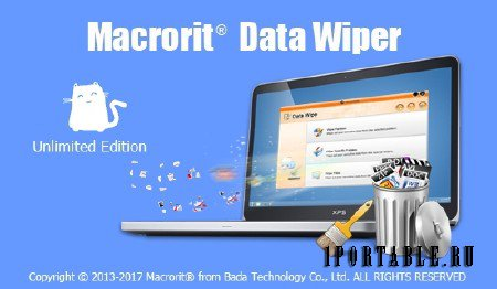 Macrorit Data Wiper 3.4.4 Unlimited Edition + Portable